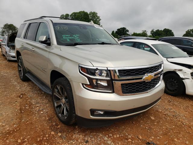 Salvage cars for sale from Copart China Grove, NC: 2016 Chevrolet Tahoe K150