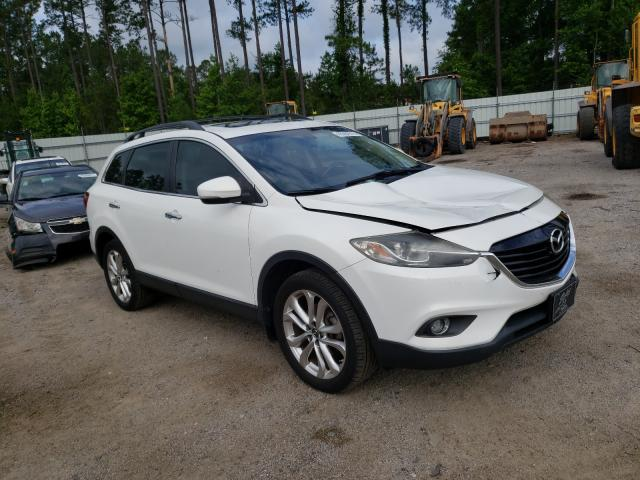 Salvage cars for sale from Copart Harleyville, SC: 2013 Mazda CX-9 Grand Touring