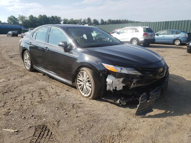 Salvage cars for sale from Copart Finksburg, MD: 2020 Toyota Camry XLE