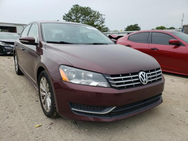 Salvage cars for sale from Copart Florence, MS: 2012 Volkswagen Passat SEL