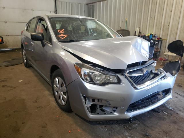 Salvage cars for sale from Copart Lyman, ME: 2015 Subaru Impreza
