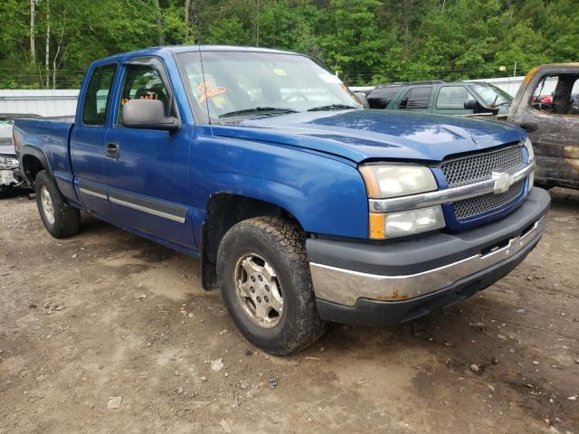 Salvage cars for sale from Copart Lyman, ME: 2004 Chevrolet Silverado