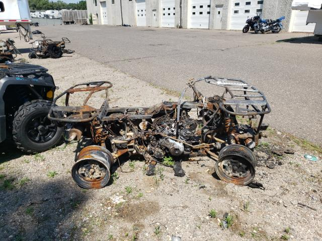 Salvage motorcycles for sale at Ham Lake, MN auction: 2016 Can-Am Outlander