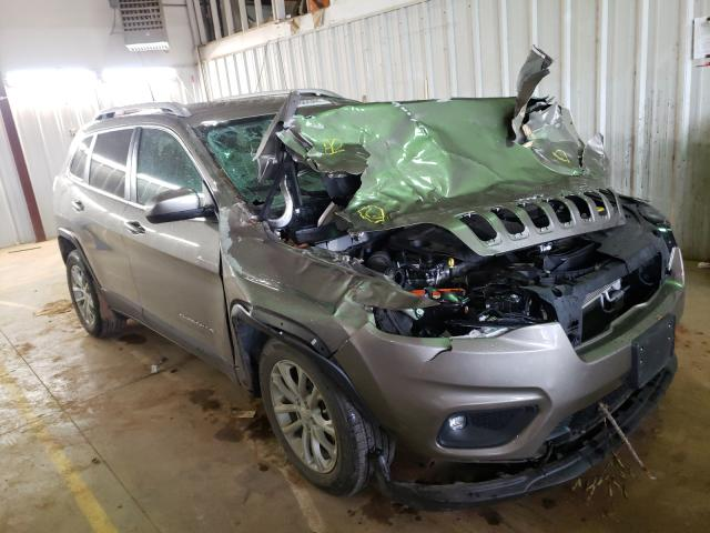 Salvage cars for sale from Copart Longview, TX: 2019 Jeep Cherokee L