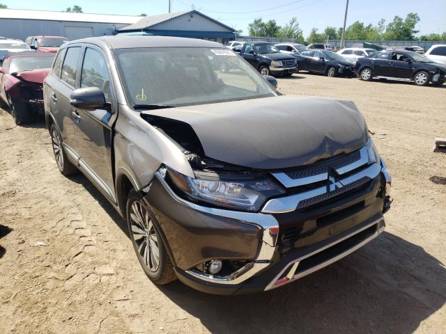 Salvage cars for sale from Copart Pekin, IL: 2019 Mitsubishi Outlander