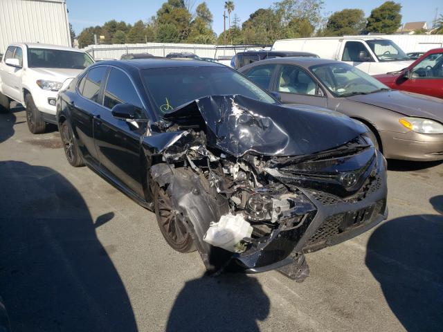 Salvage cars for sale from Copart Vallejo, CA: 2018 Toyota Camry L