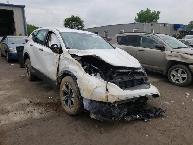 Salvage cars for sale from Copart Duryea, PA: 2019 Honda CR-V LX