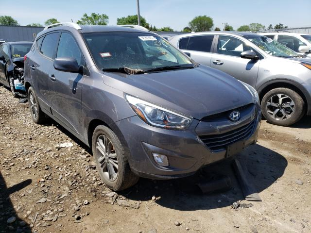 Salvage cars for sale from Copart Cudahy, WI: 2014 Hyundai Tucson GLS