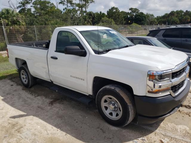Salvage cars for sale from Copart Fort Pierce, FL: 2017 Chevrolet Silverado