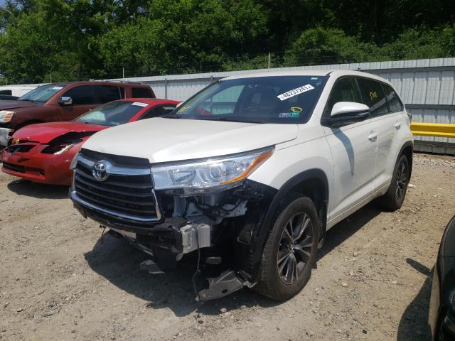 2015 Toyota Highlander 3.5L, VIN: 5TDBKRFH1FS******, аукцион: COPART, номер лота: 46237241