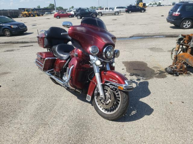 Salvage cars for sale from Copart Moraine, OH: 2012 Harley-Davidson Flhtcu ULT