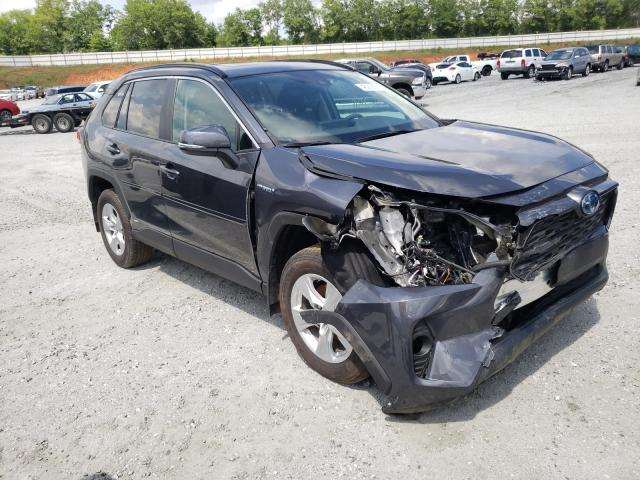 Salvage cars for sale from Copart Spartanburg, SC: 2019 Toyota Rav4 XLE