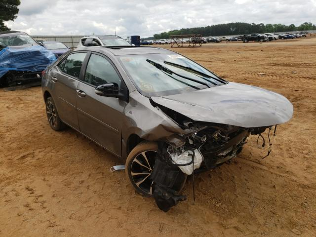 Salvage cars for sale from Copart Longview, TX: 2017 Toyota Corolla L