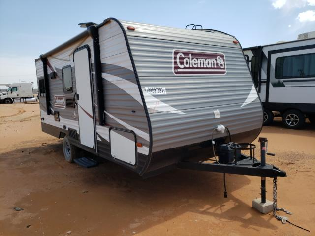 Salvage cars for sale from Copart Andrews, TX: 2017 Coleman Camper