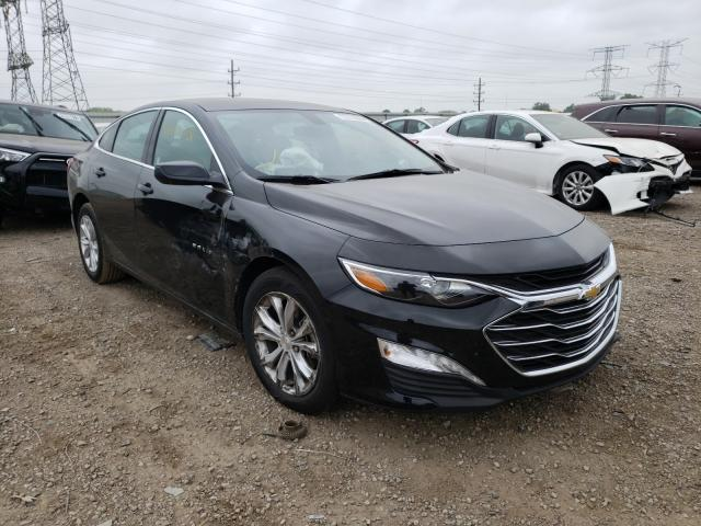 Salvage cars for sale from Copart Elgin, IL: 2021 Chevrolet Malibu LT