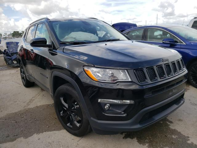 Salvage cars for sale from Copart Riverview, FL: 2020 Jeep Compass LA