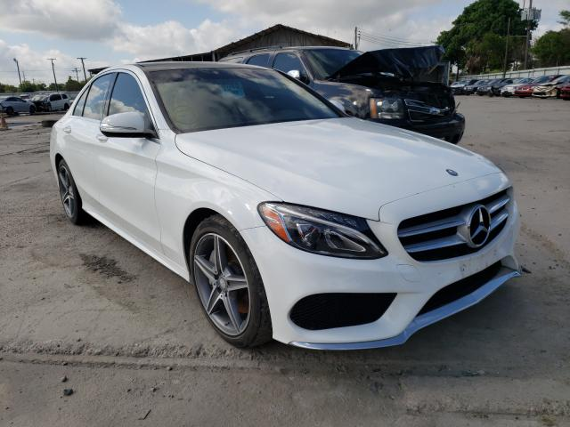 Salvage cars for sale from Copart Corpus Christi, TX: 2015 Mercedes-Benz C300