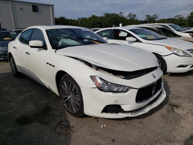Maserati salvage cars for sale: 2016 Maserati Ghibli