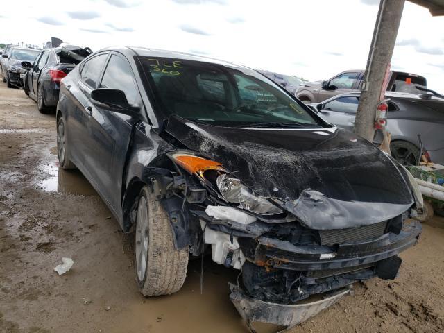 Vehiculos salvage en venta de Copart Temple, TX: 2013 Hyundai Elantra GL