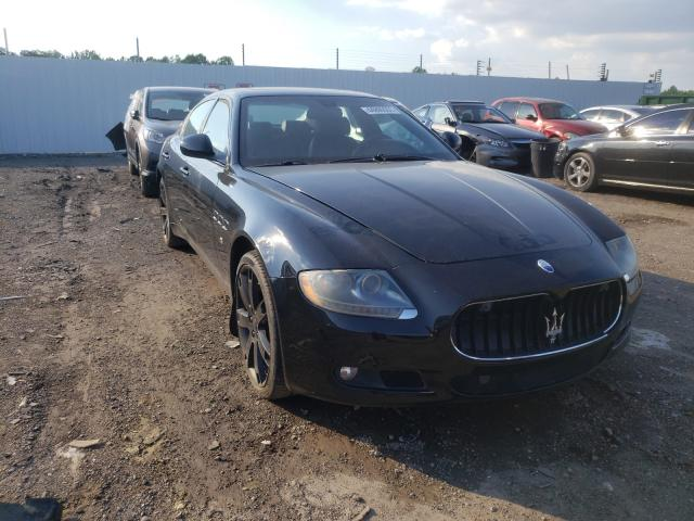 Salvage cars for sale from Copart Louisville, KY: 2011 Maserati Quattropor