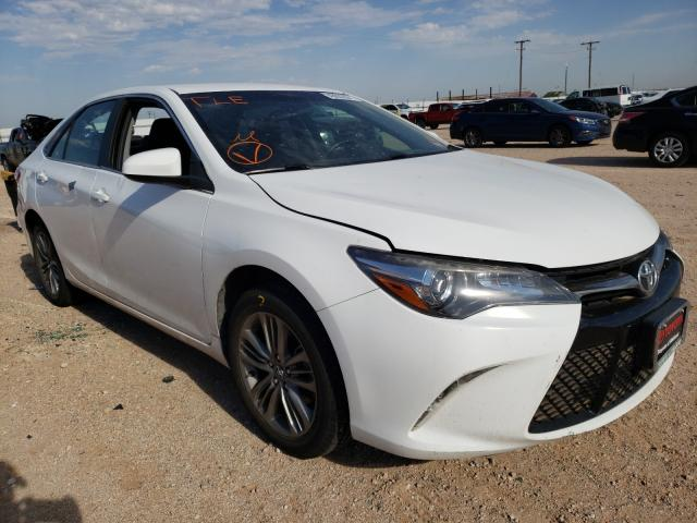 Salvage cars for sale from Copart Andrews, TX: 2017 Toyota Camry LE