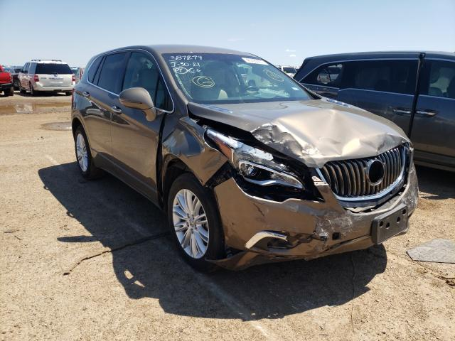Salvage cars for sale from Copart Amarillo, TX: 2017 Buick Envision P