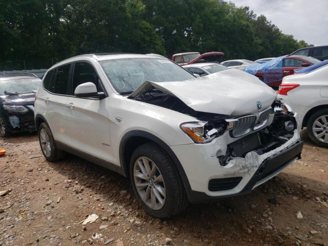 Salvage cars for sale from Copart Austell, GA: 2017 BMW X3 SDRIVE2