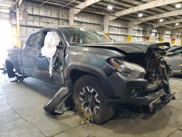 Salvage cars for sale from Copart Woodburn, OR: 2019 Toyota Tacoma DOU