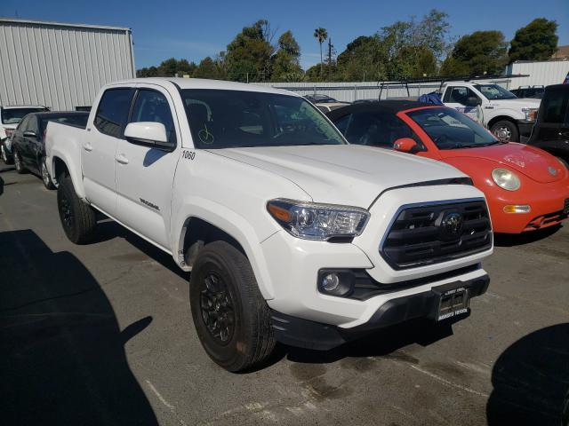 Salvage cars for sale from Copart Vallejo, CA: 2019 Toyota Tacoma DOU