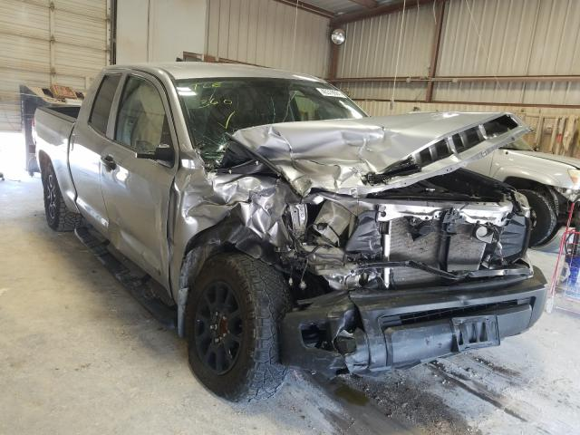 Salvage cars for sale from Copart Abilene, TX: 2020 Toyota Tundra DOU