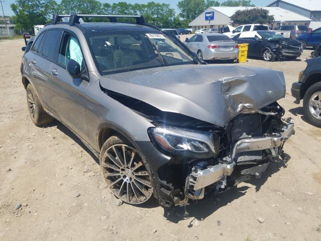 Salvage cars for sale from Copart Madison, WI: 2019 Mercedes-Benz GLC 43 4matic