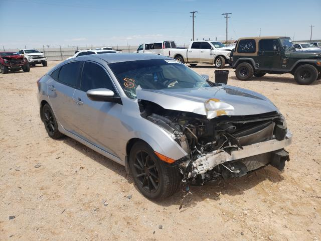 Salvage cars for sale from Copart Andrews, TX: 2016 Honda Civic LX