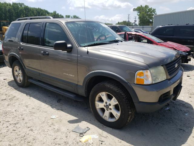 Salvage cars for sale from Copart Hampton, VA: 2004 Ford Explorer X