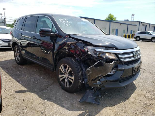Salvage cars for sale from Copart Finksburg, MD: 2016 Honda Pilot EXL