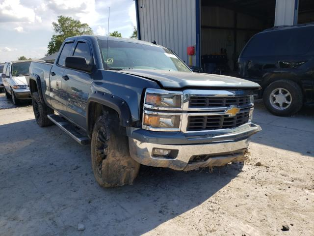 Salvage cars for sale from Copart Sikeston, MO: 2014 Chevrolet Silverado