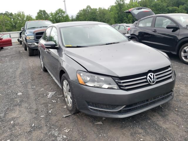 Salvage cars for sale from Copart York Haven, PA: 2013 Volkswagen Passat S