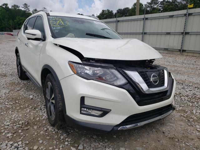 Salvage cars for sale from Copart Ellenwood, GA: 2017 Nissan Rogue S