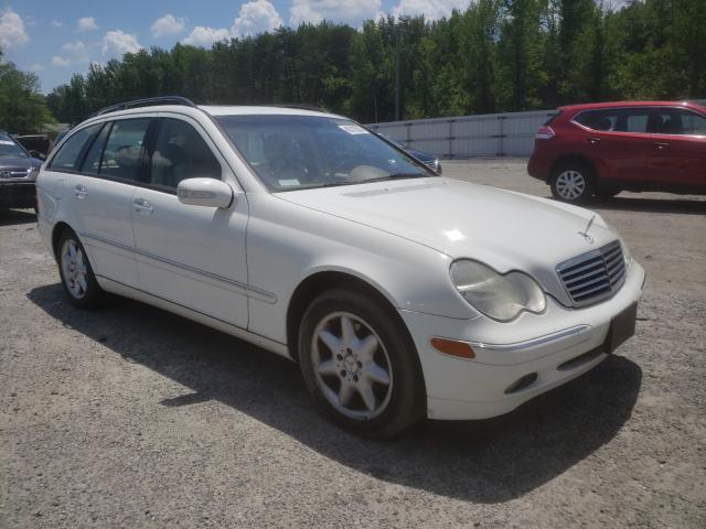 Salvage cars for sale from Copart Fredericksburg, VA: 2004 Mercedes-Benz C 240 Sport