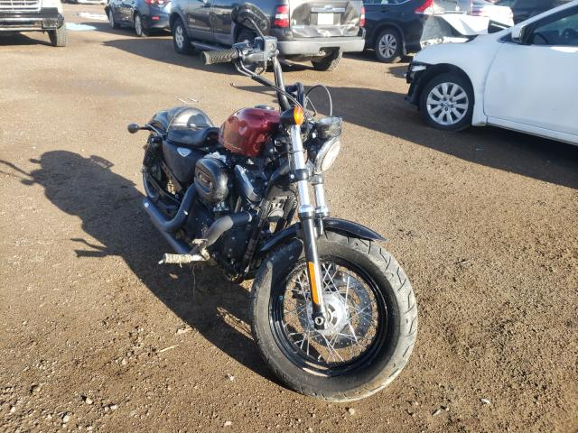 Salvage cars for sale from Copart Brighton, CO: 2015 Harley-Davidson XL1200 FOR