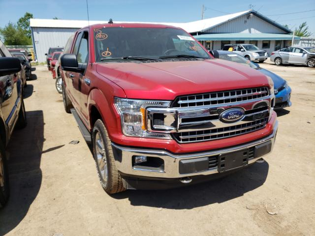 Salvage cars for sale from Copart Pekin, IL: 2020 Ford F150 Super