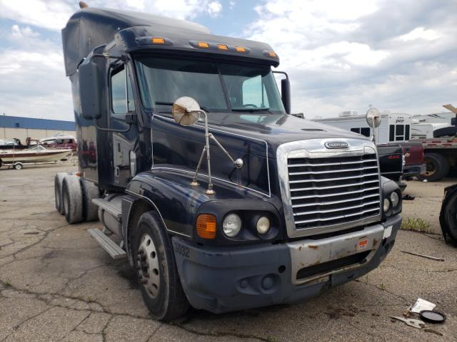 Salvage cars for sale from Copart Woodhaven, MI: 2009 Freightliner Convention