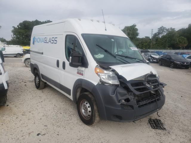 Salvage cars for sale from Copart Apopka, FL: 2018 Dodge RAM Promaster