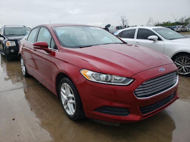 2016 Ford Fusion SE en venta en Grand Prairie, TX