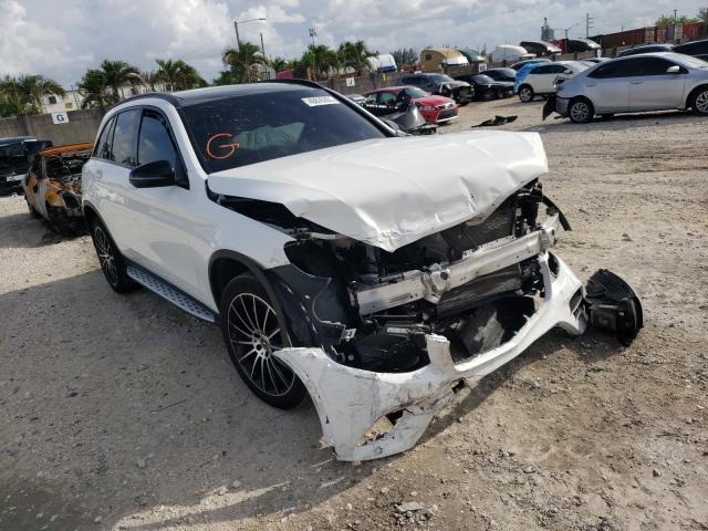 Salvage cars for sale from Copart Opa Locka, FL: 2019 Mercedes-Benz GLC 300