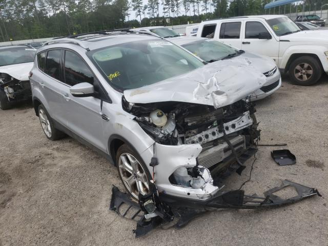 Salvage cars for sale from Copart Harleyville, SC: 2018 Ford Escape Titanium