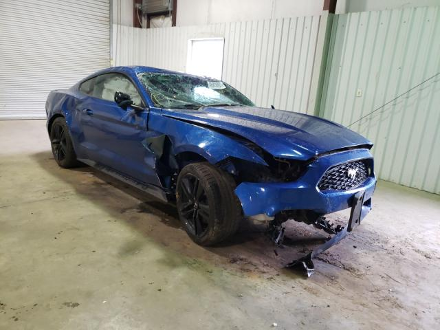 Salvage cars for sale from Copart Lufkin, TX: 2017 Ford Mustang