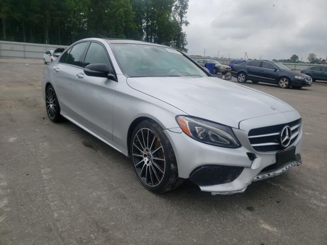 Vehiculos salvage en venta de Copart Dunn, NC: 2018 Mercedes-Benz C300