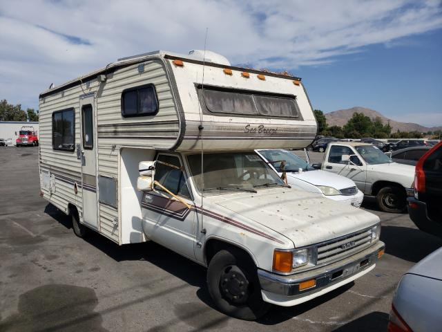Salvage cars for sale from Copart Colton, CA: 1989 Toyota Cab Chassi