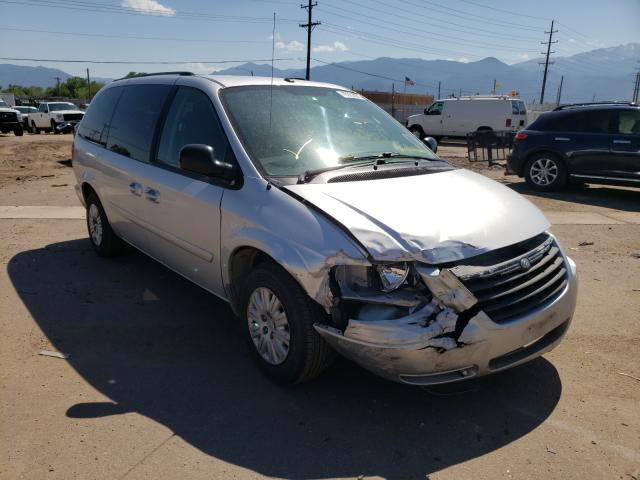 Salvage cars for sale from Copart Colorado Springs, CO: 2007 Chrysler Town & Country