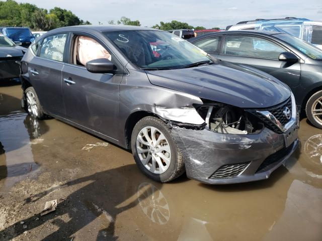 Salvage cars for sale from Copart Riverview, FL: 2019 Nissan Sentra S
